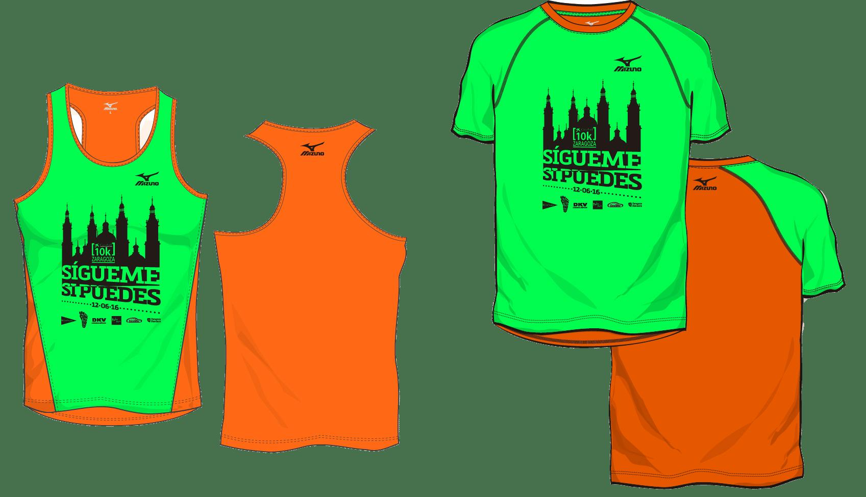 camisetas de la 10k 2016
